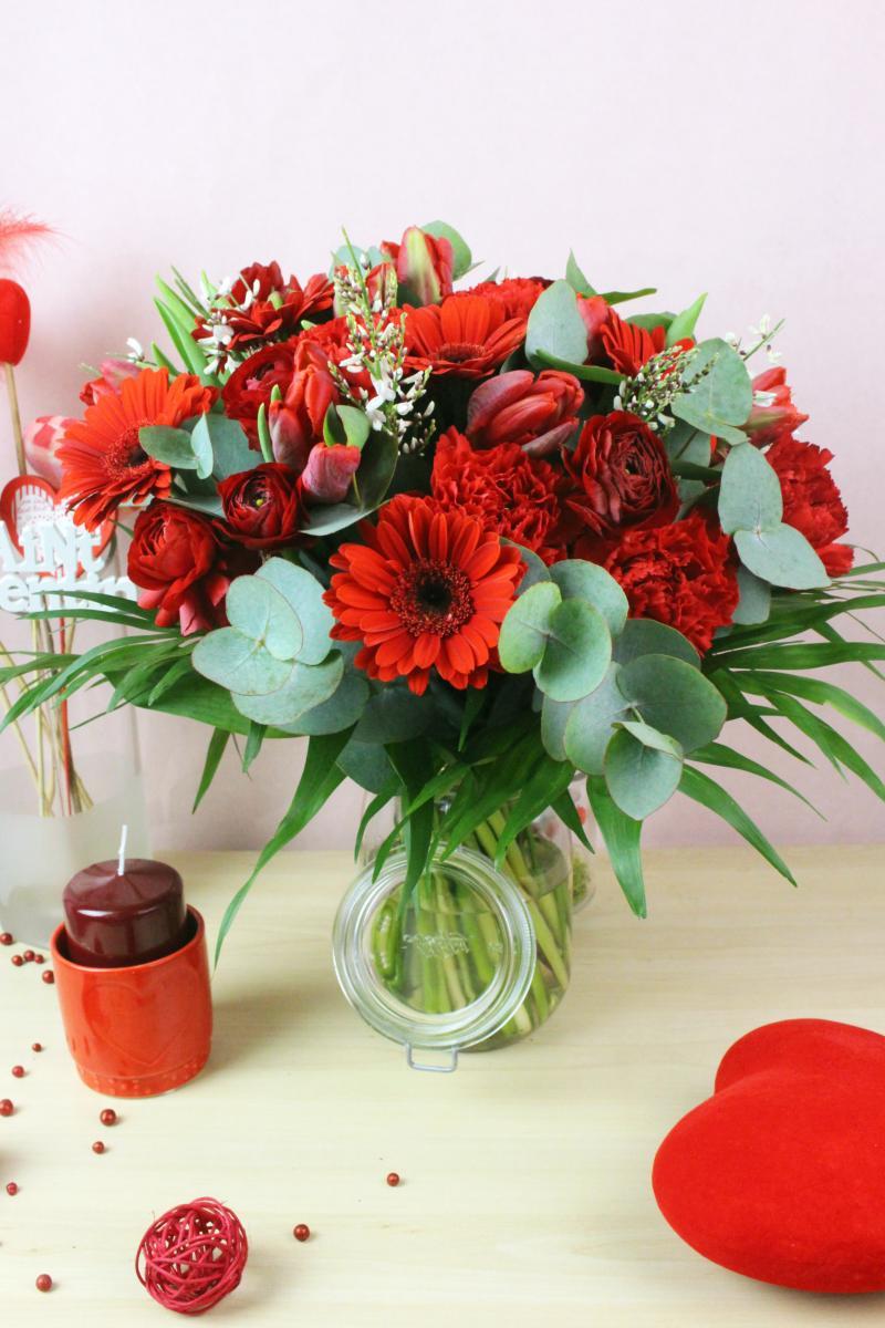 BUDAPEST - Bouquet de fleurs d'amour