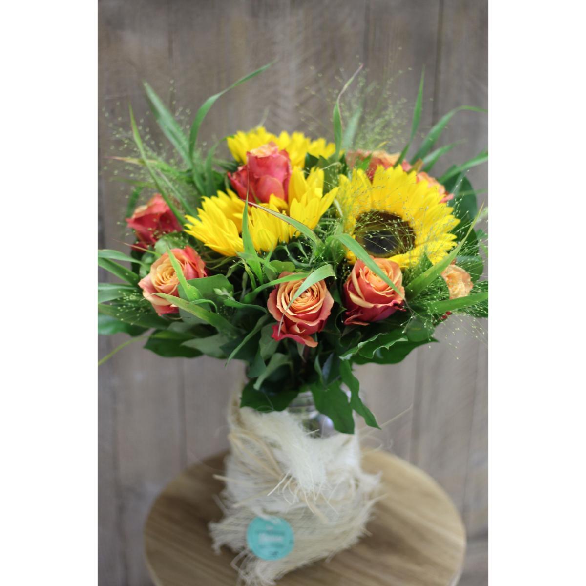 Bouquet De Fleurs Signature Tournesol D Ete