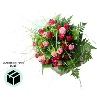 TOULOUSE - Bouquet de roses