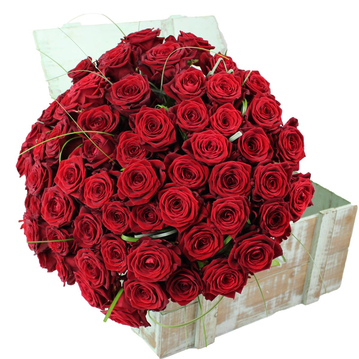 La fontaine fleurie offrir bouquet de roses rouges red naomi for Bouquets de roses