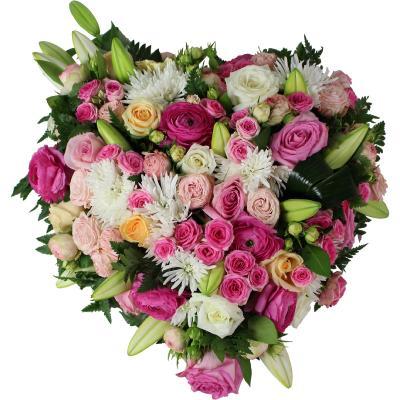 la fontaine fleurie livraison c ur de fleurs cimeti re oise. Black Bedroom Furniture Sets. Home Design Ideas